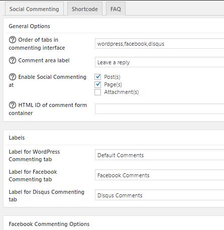 Social Commenting - social login