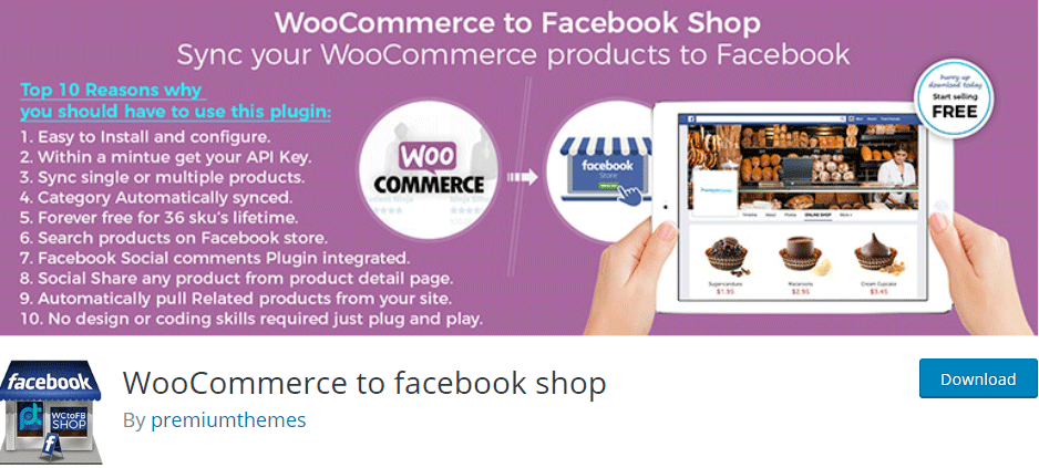 WooCommerce to Facebook Shop