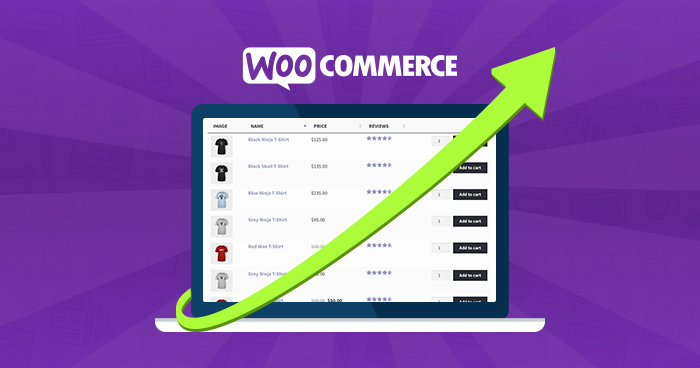 Woocommerce Store-Sales by Adding Product Tables