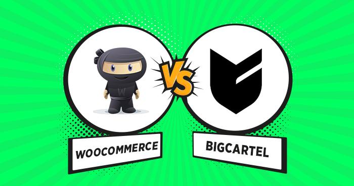 Woocommerce vs Bigcartel comparison