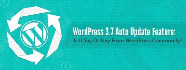 WordPress 3.7 Auto Update