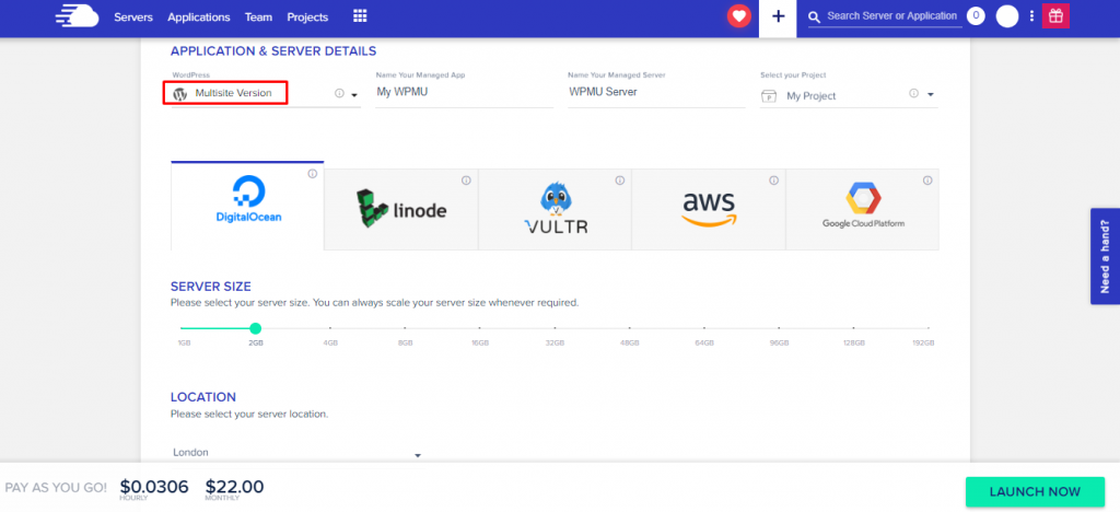 WordPress Multisite Setup on Cloudways