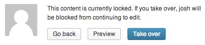 WordPress Post Lock