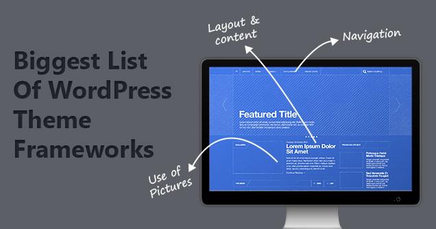 wordpress theme frameworks 2017