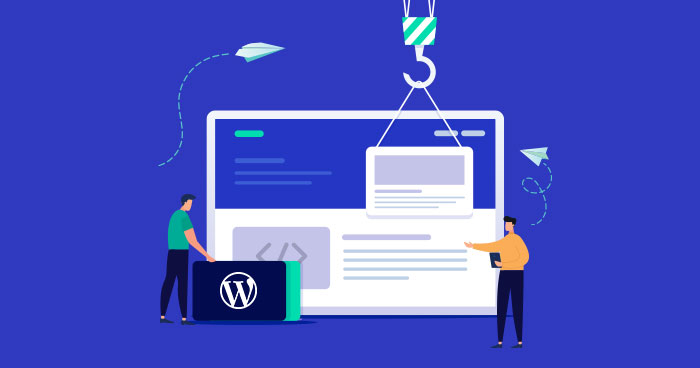 wordpress website builder