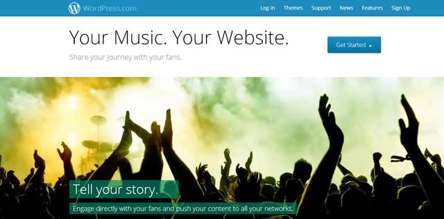 WordPress for Musicians