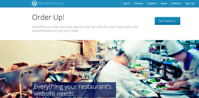 WordPress for Restaurants