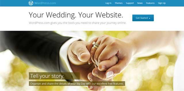 WordPress for Weddings