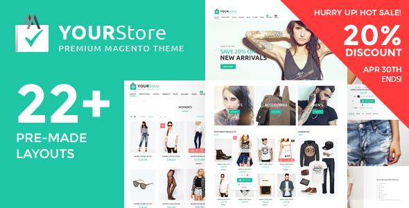 YourStore Premium Magento 2 Theme