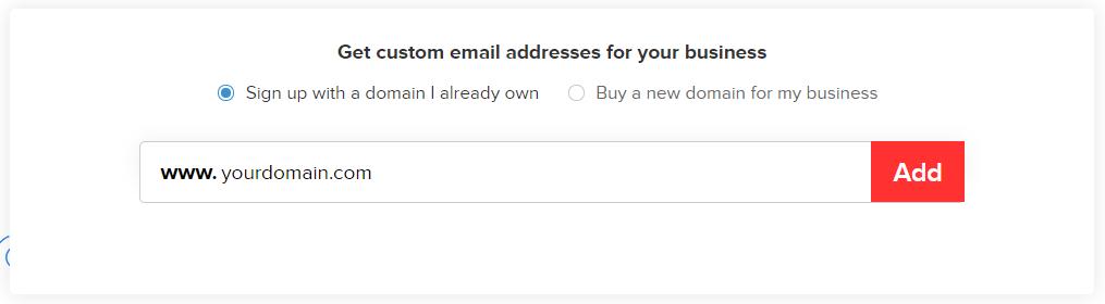 Zoho Mail - Domain Setup