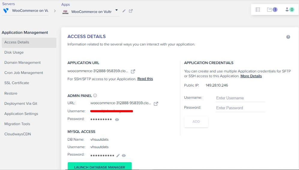 access - details