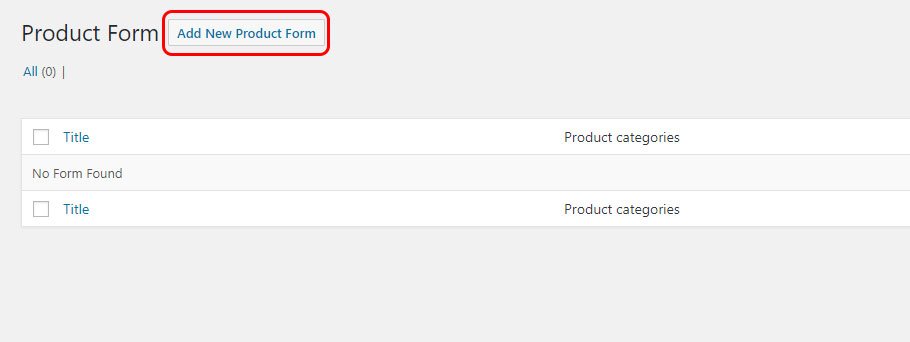 add new product form