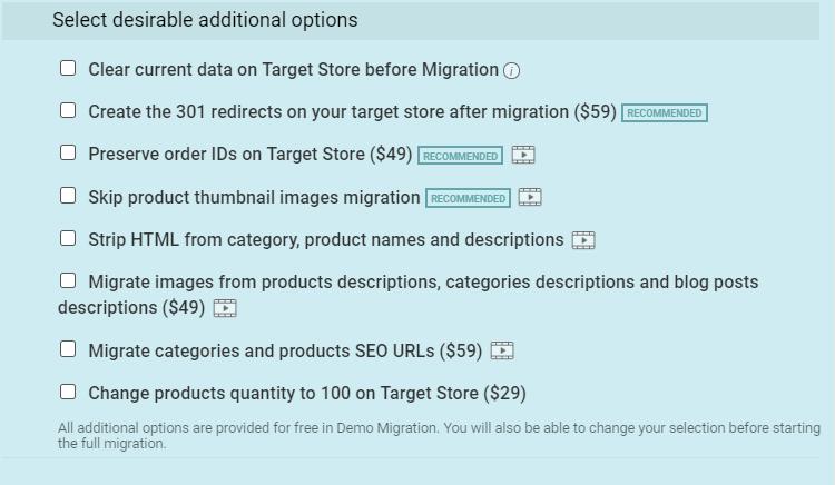 additional option migrations