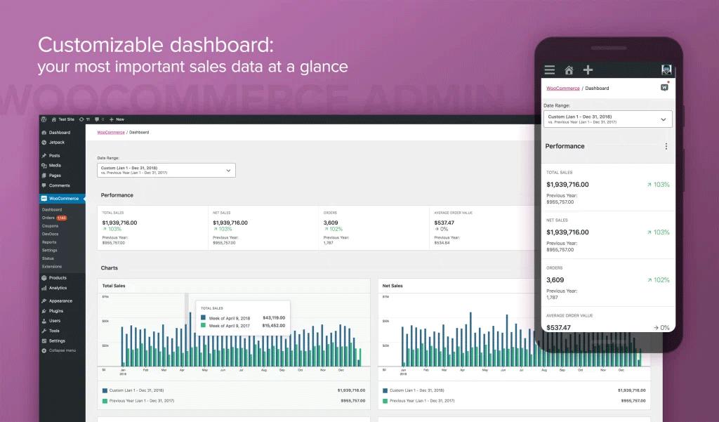 admin interface