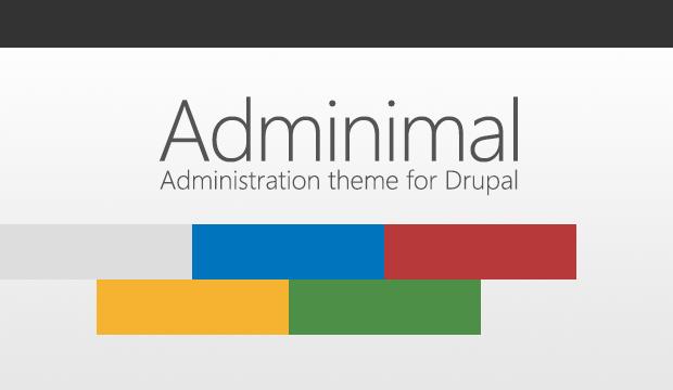 adminimal theme
