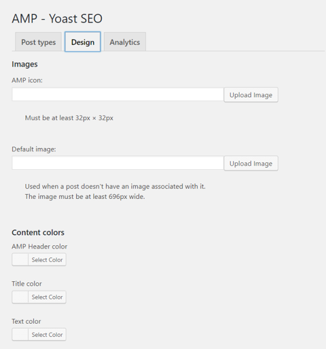 amp yoast seo design