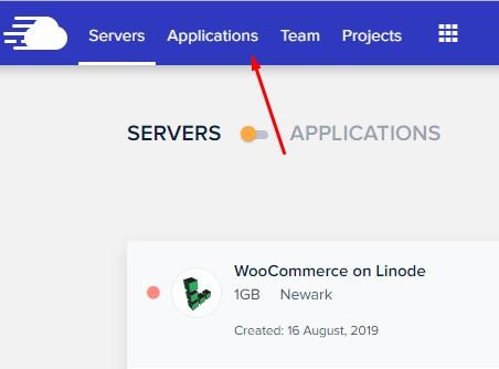 Server & Application -WooCommerce on Linode