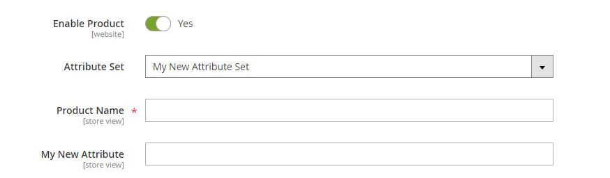 attribute set result magento 2