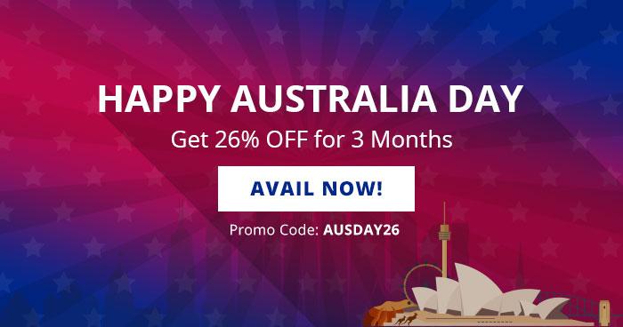 Australia Day Hosting Deals