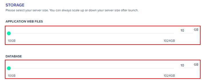 aws server storage
