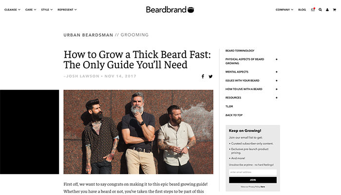 beardbrand case study