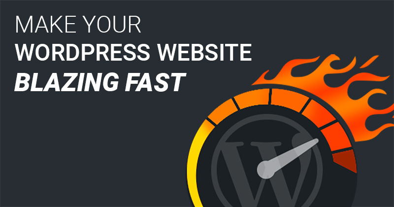 fast wordpress website