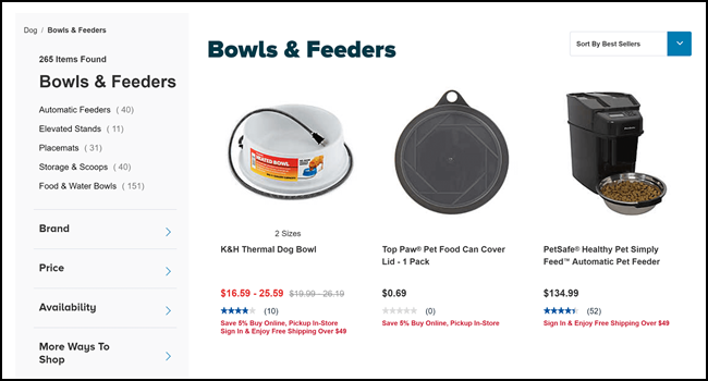 bowls and feeders for your dog