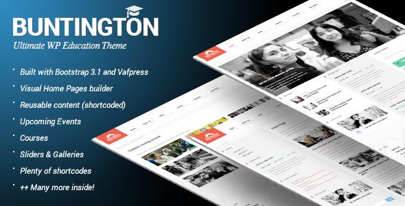 buntington theme