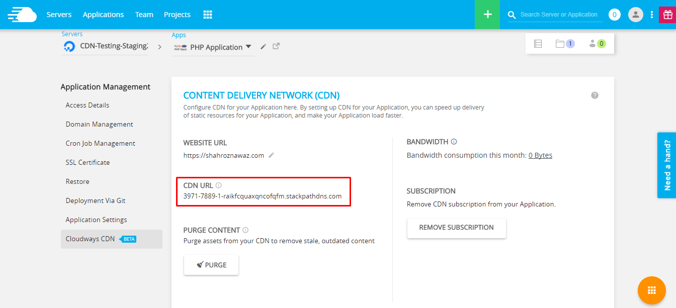 Symfony CDN is a great way of speeding up websites