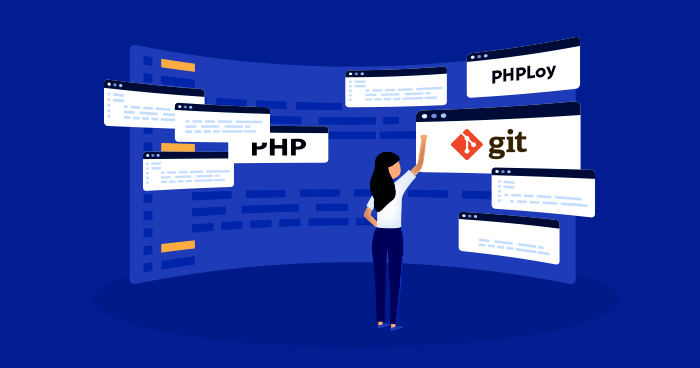 cli with git and phploy