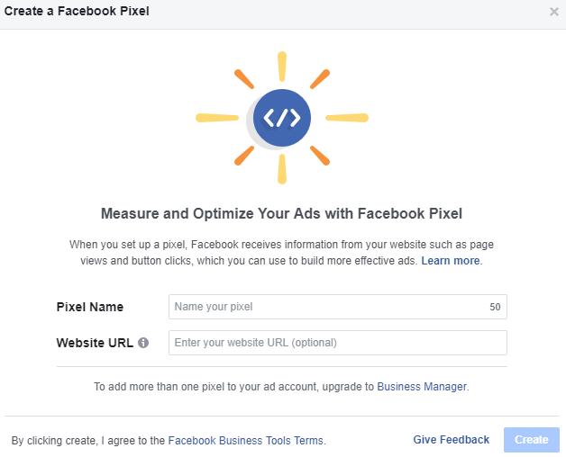 Create a WooCommerce Facebook pixel