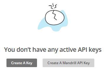 create mailchimp api key