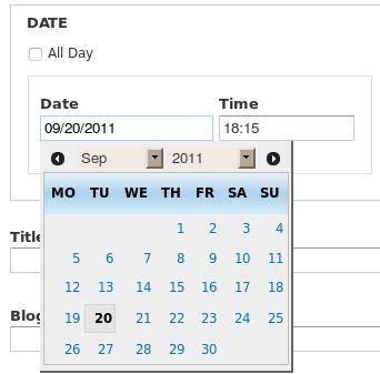 date module