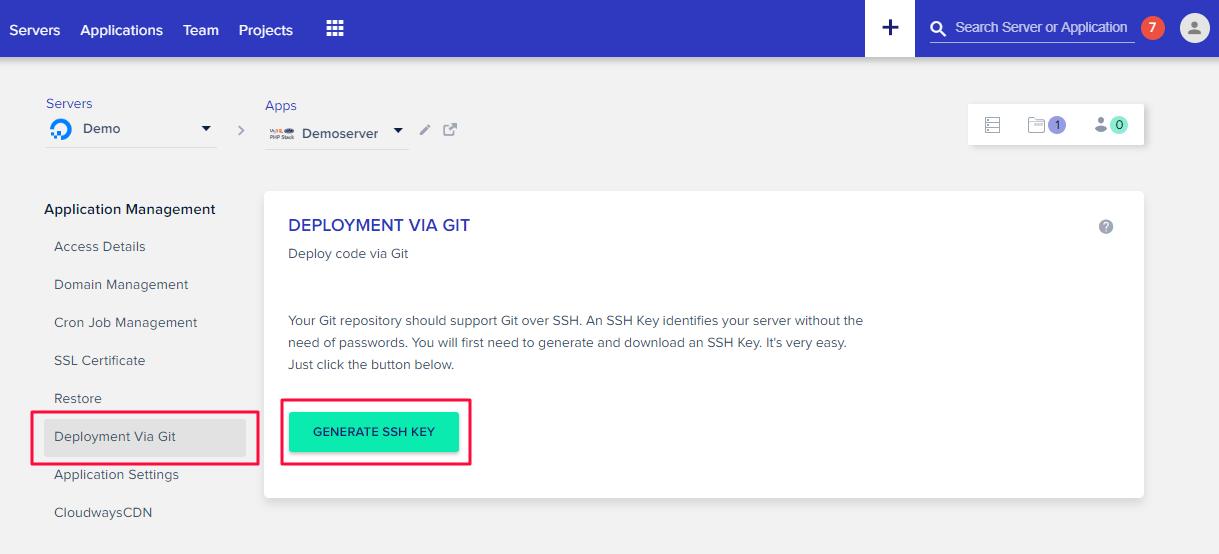 generate ssh key