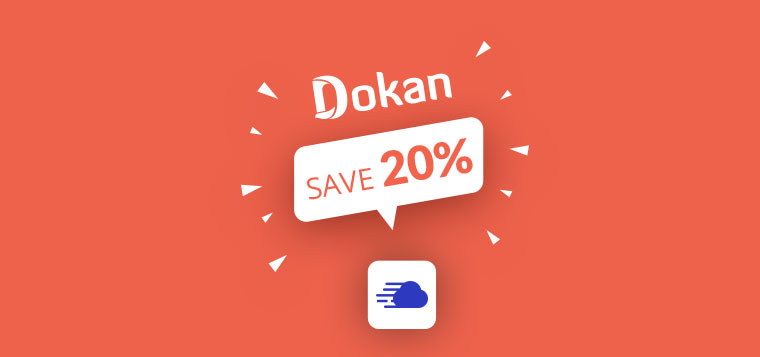 dokan offer for cloudways users