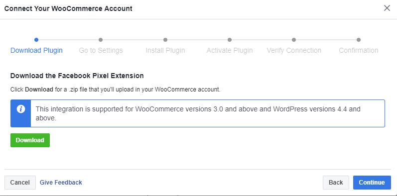 download facebook pixel extensions
