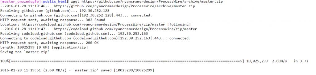 ProcessWire Cloudways