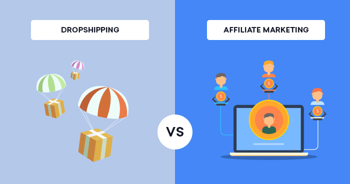 Dropshipping vs Affiliate Marketing – Which is Profitable?