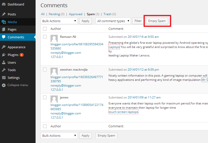 How to Stop Spam Comments & Registrations in WordPress