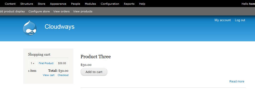 Downloading Commerce Kickstart