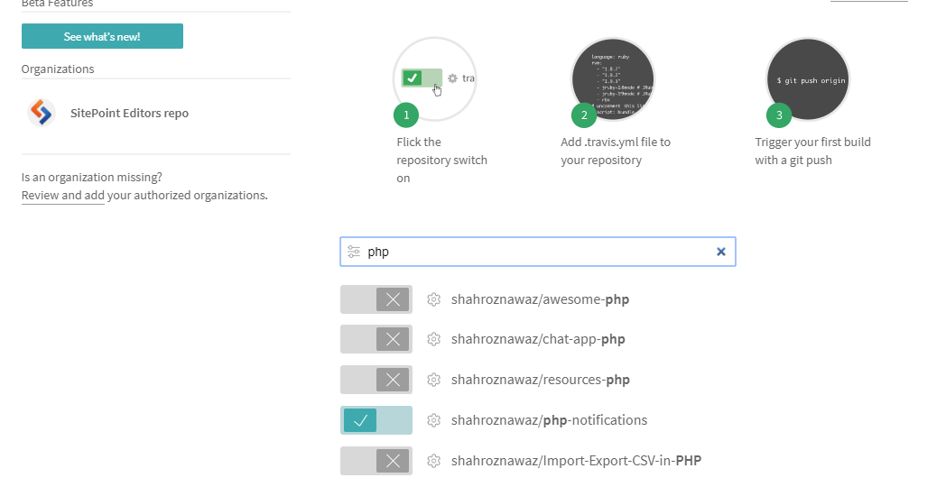 How to do PHP Continuous Integration With Travis CI