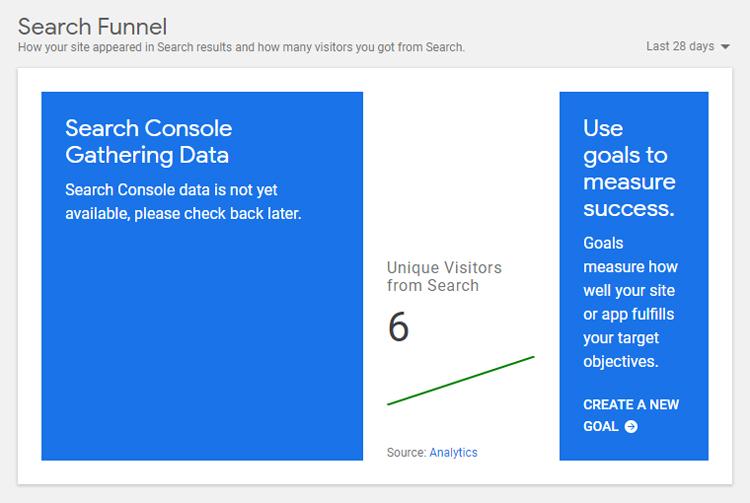 google site kit interface