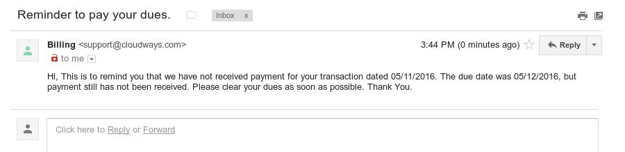 artisan-billing-email