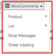 woocommerce shortcode option