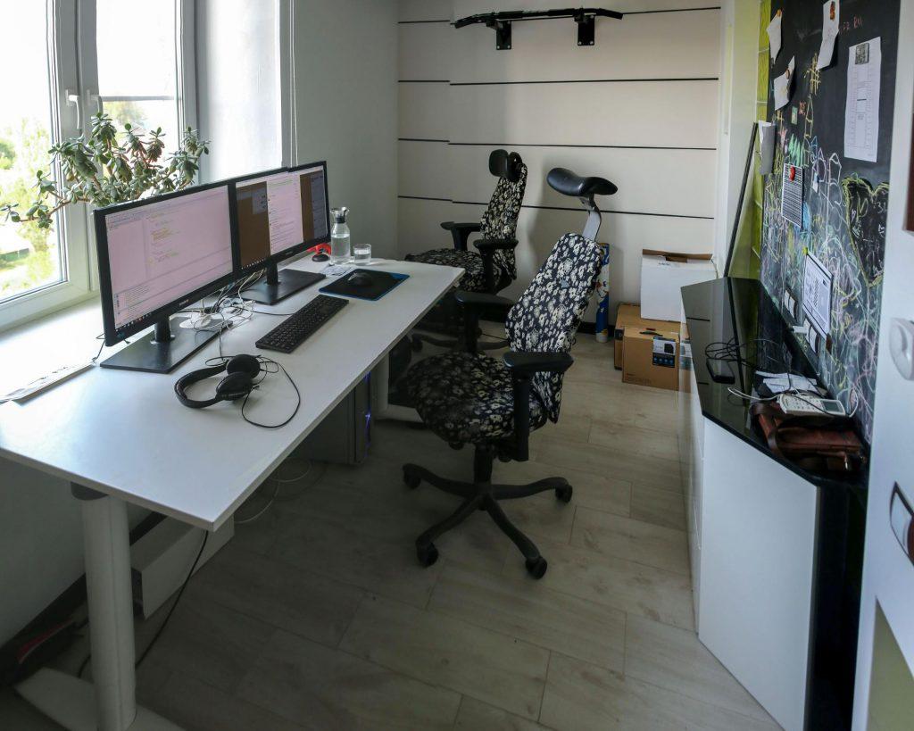 Alexander Makarov workstation