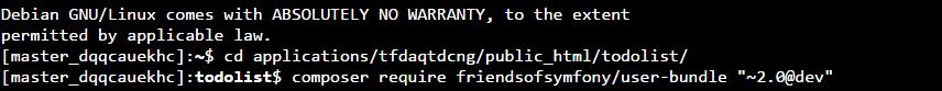 ssh terminal