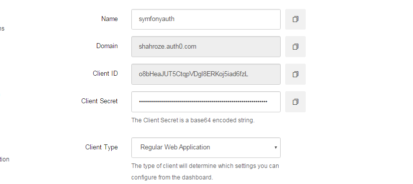 Implement Symfony User Authentication using Auth0