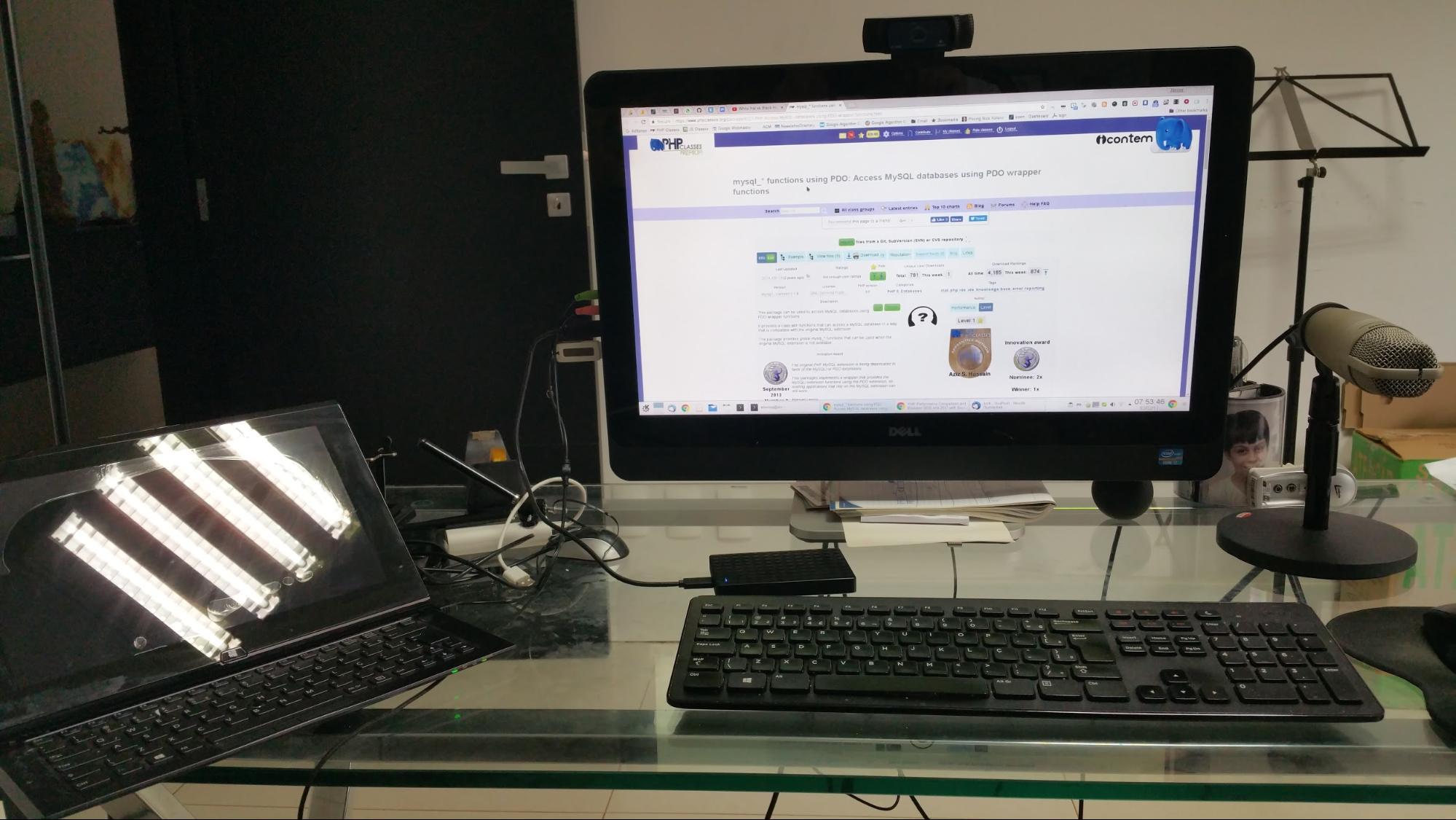 Manuel Lemos workstation