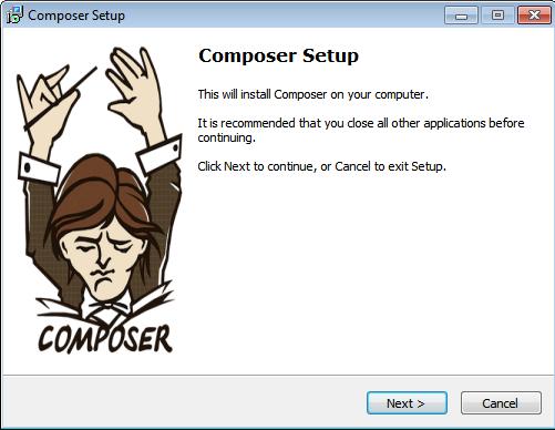 Composer Setup