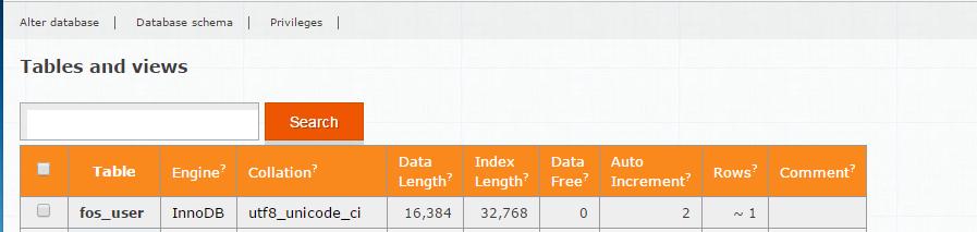 Updating Database Schema